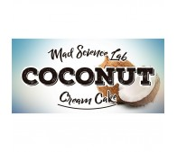 Coconut Cream Cake - Mad Science Lab