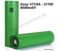 Sony VTC6A 21700 - 4000MAH